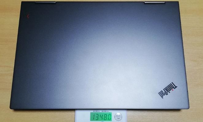 Lenovo X1 YOGAの重さ