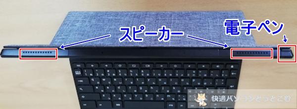 >ASUS Chromebook Detachable CM3上部